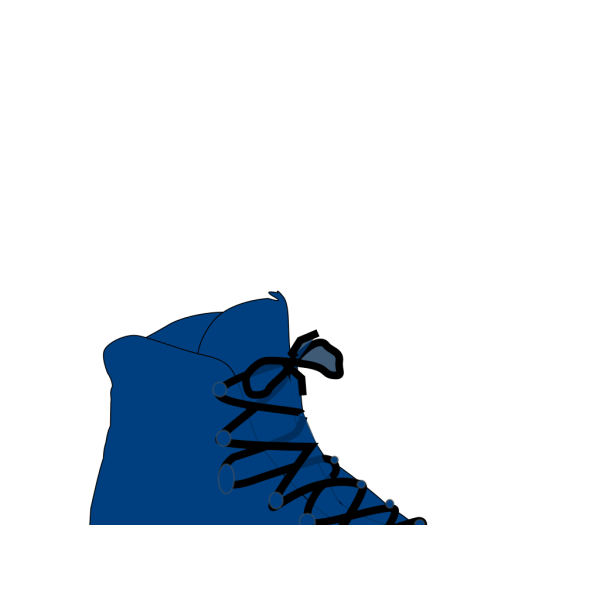 Dark Blue Boot PNG images