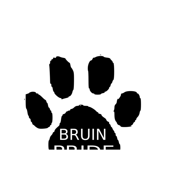 Bruin Pride PNG Clip art