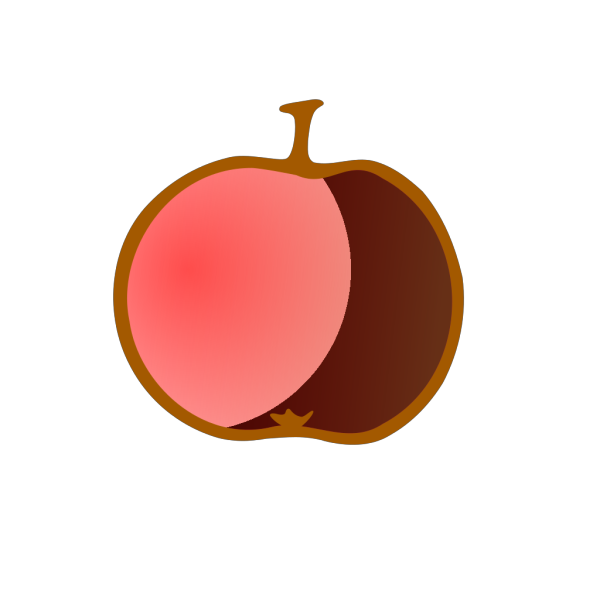 Bluest Apple Ever PNG Clip art