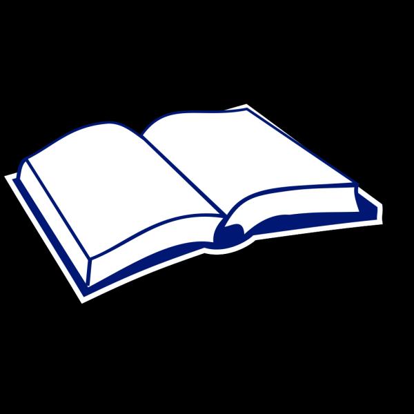 Open Blue Book PNG Clip art