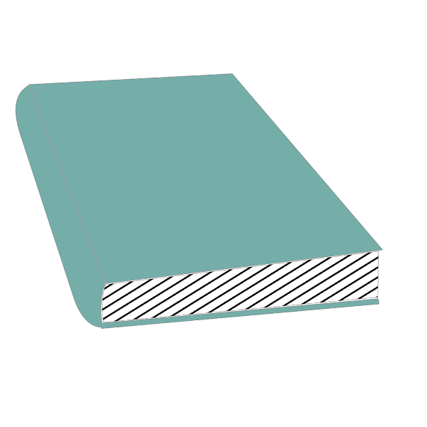 Closed Blue Book PNG Clip art