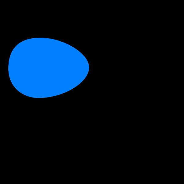 Blue Egg PNG Clip art
