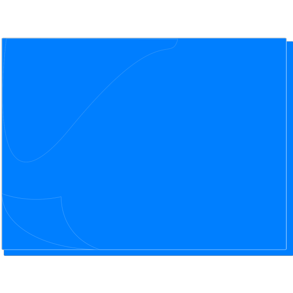 Blue Sticky Note PNG icon