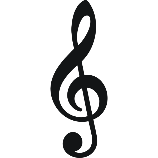 Treble Clef PNG images