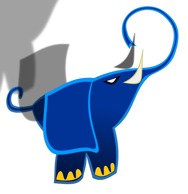 Blue Animal  PNG Clip art