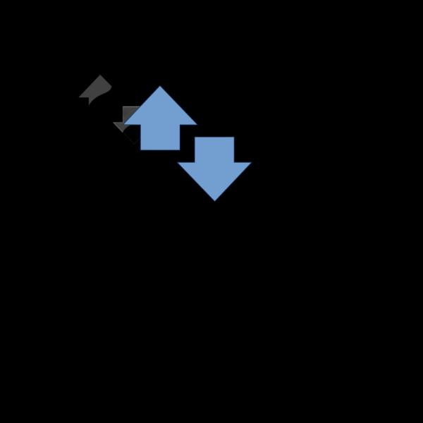Arrow Up Down PNG Clip art
