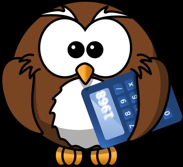 Cute Blue Owl PNG Clip art