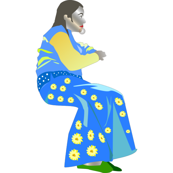 Middle Eastern Woman PNG Clip art
