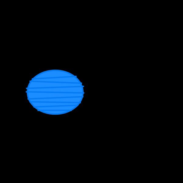 Blue Paper Lantern PNG Clip art