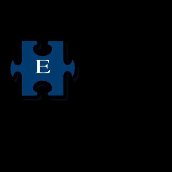 Puzzle E PNG Clip art