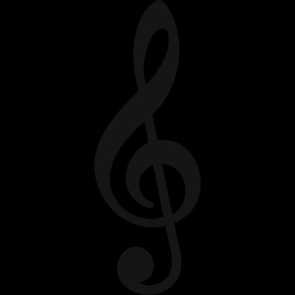 Trebleclef PNG Clip art