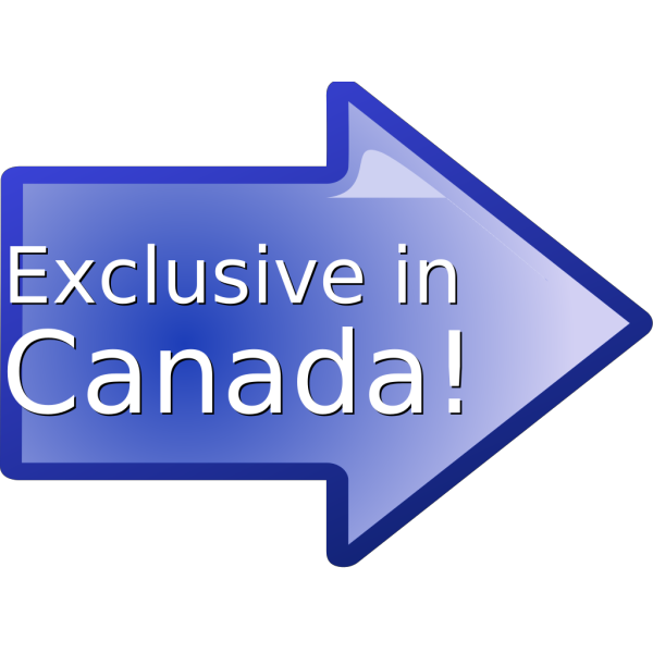 Exclusive In Canada! PNG icons