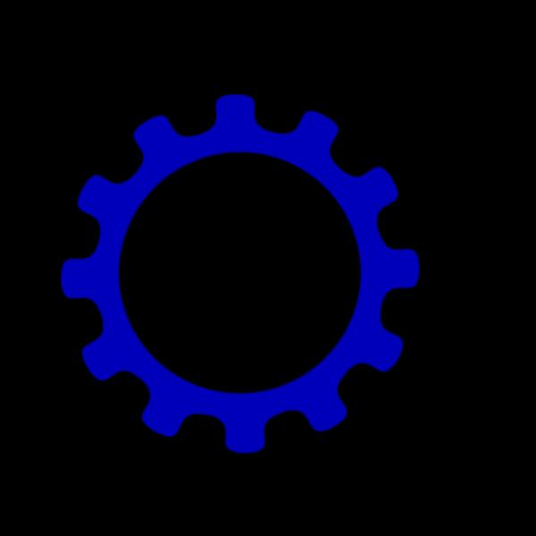 Bluegear PNG Clip art