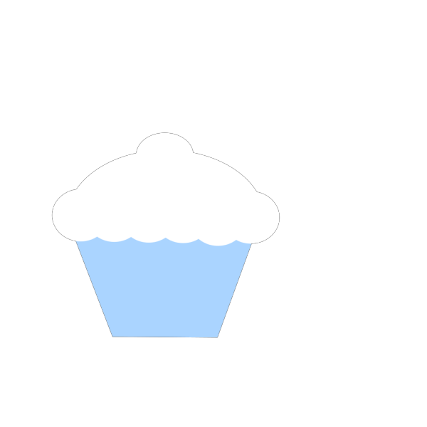 Cupcake With Sprinkles PNG Clip art