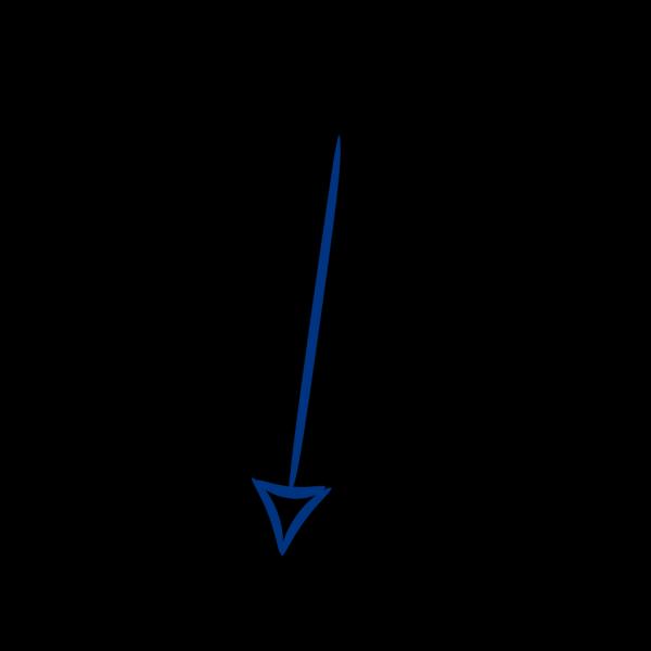 Reflex Blue Arrow PNG Clip art