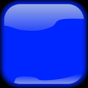 Blue Square Button PNG Clip art
