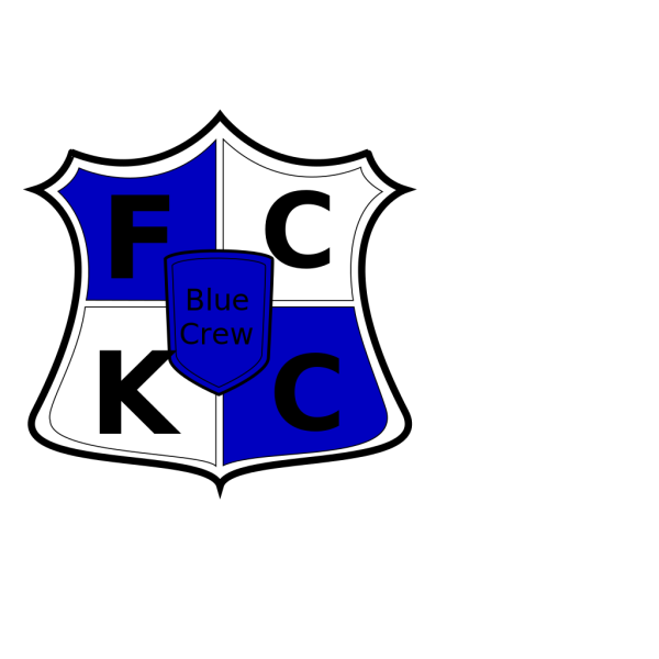 Fckc Bluecrew Shield PNG Clip art