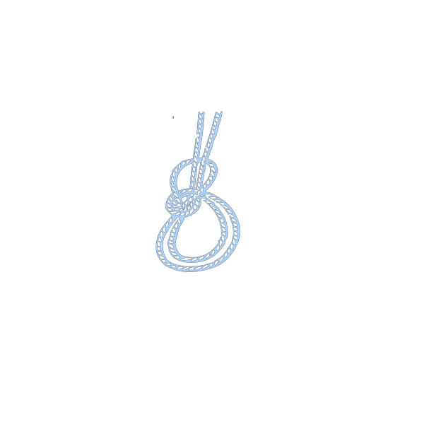 Blue Rope PNG Clip art