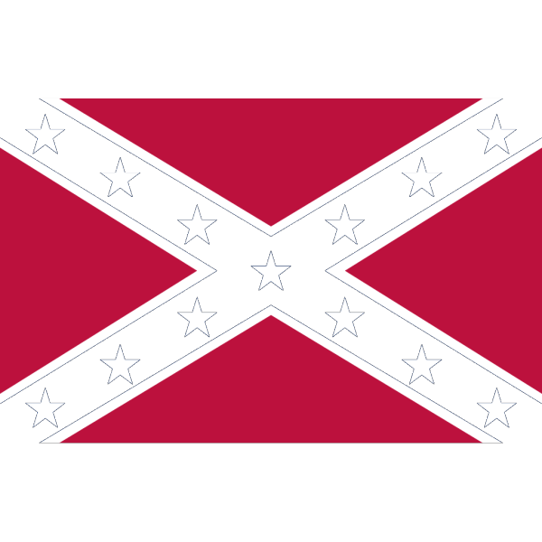 Confederate Navy Jack PNG icon