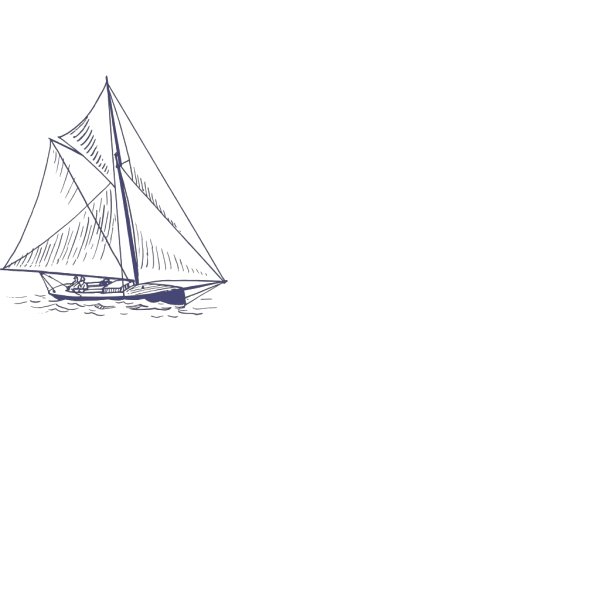 Blue Yacht PNG images