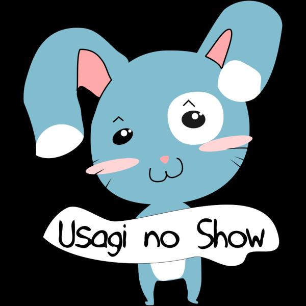 Blue Bunny Rabbit PNG Clip art