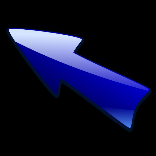 Kuba Arrow Button Up PNG Clip art