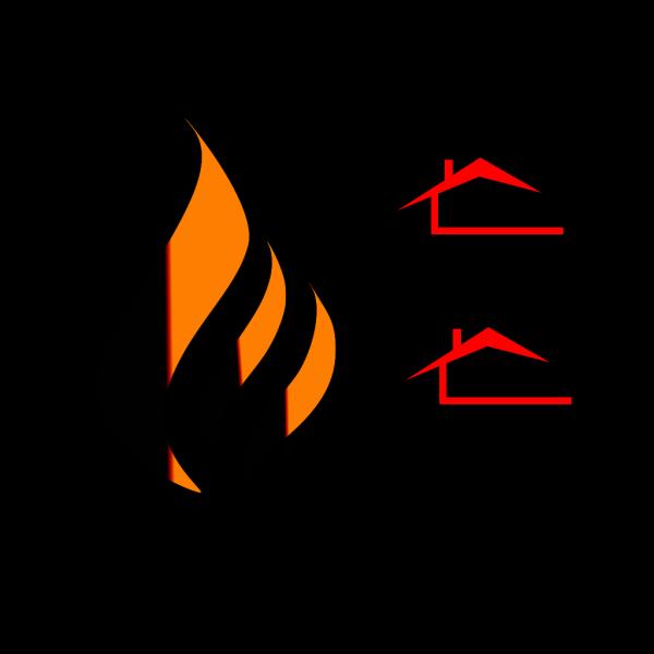 Ryan Flame Logo Blue PNG Clip art