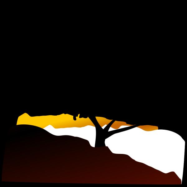 Large Blue Tree PNG Clip art