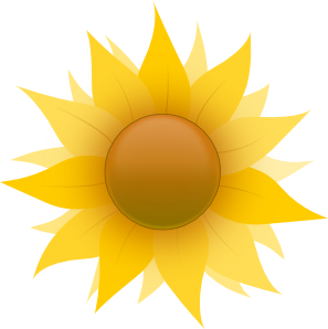 Sunflower With Sky In The Background PNG Clip art