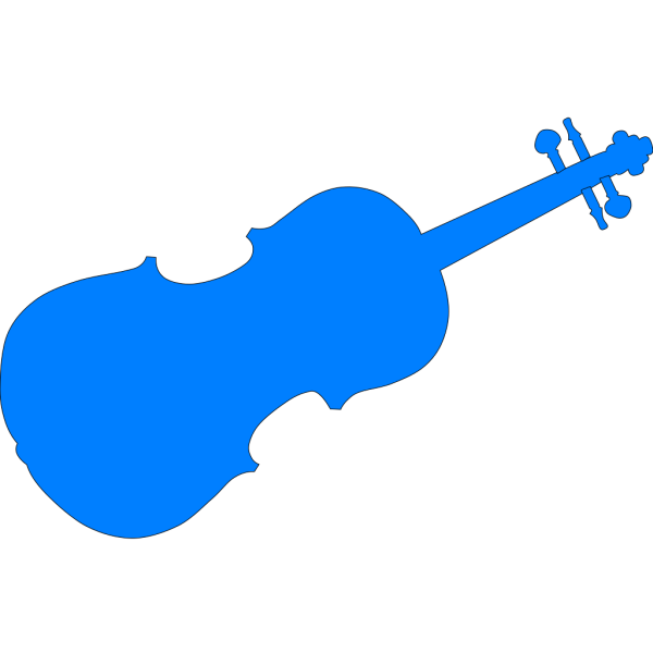 Blue Violins PNG Clip art