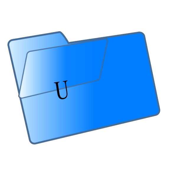 Blue File Folder Cjis PNG Clip art