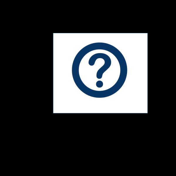 Blue Question Mark PNG Clip art
