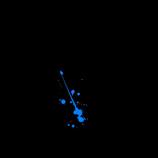 Bluesplatter PNG Clip art