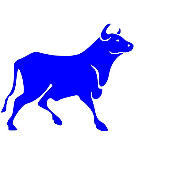 Toro Blue PNG Clip art