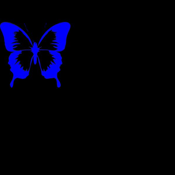 Bluelight.butterfly PNG Clip art