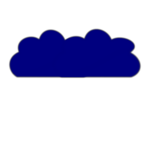 Blurry Cloud PNG Clip art