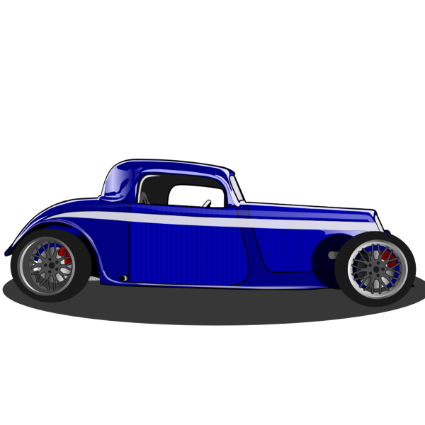 Hot Rod Somewhat Blank PNG Clip art