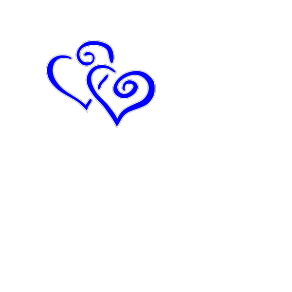 Intertwined Hearts PNG Clip art