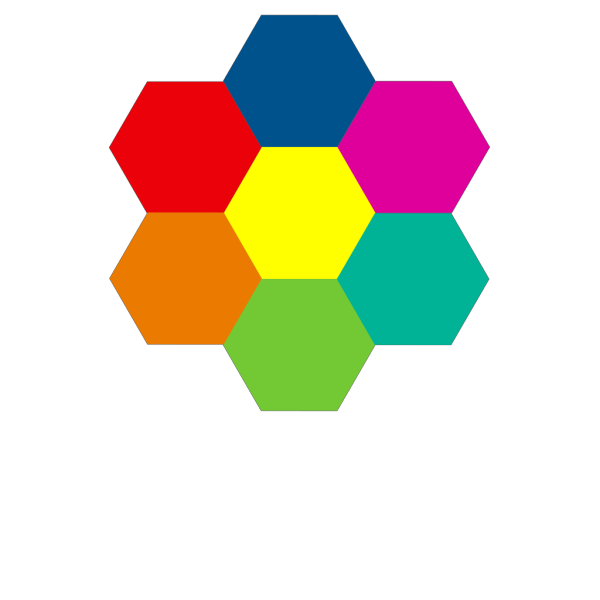 Hexagonal Flower PNG images