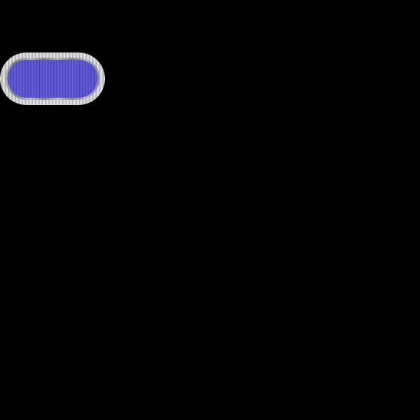Blue Oval Button PNG Clip art
