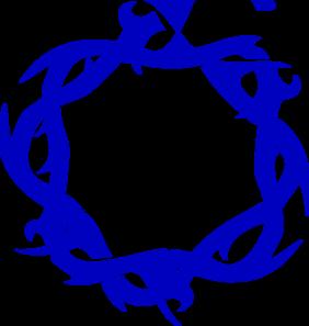 Blue Thorns PNG Clip art