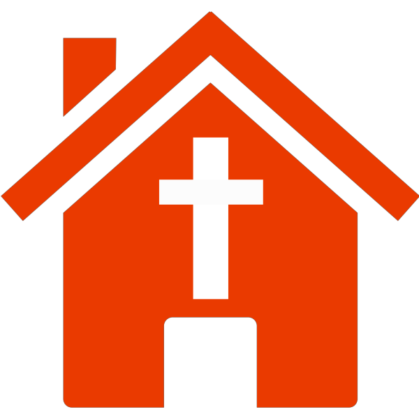 Blue Church House PNG images
