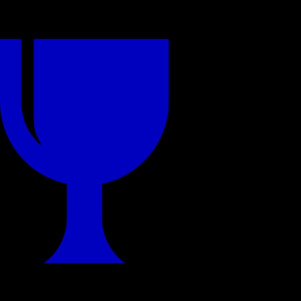 Blue Chalice PNG Clip art