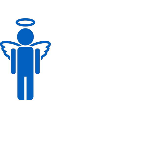 Blue Angel Full PNG Clip art