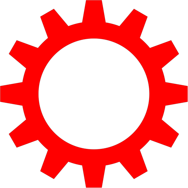 High Resolution Gear Blue PNG Clip art