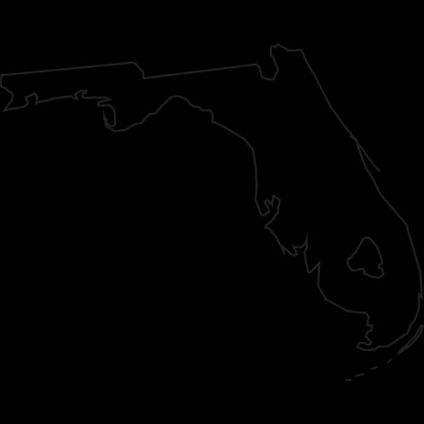 Florida Outline PNG Clip art