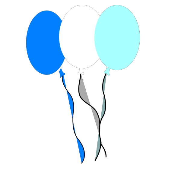Party Balloons PNG Clip art