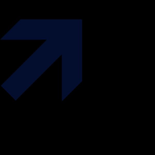 Navy Arrow PNG Clip art