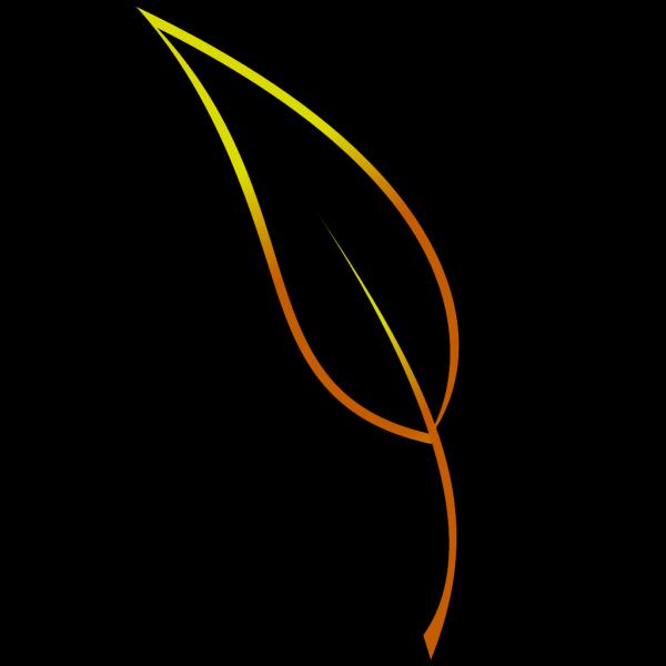 Leaf Lineart PNG images