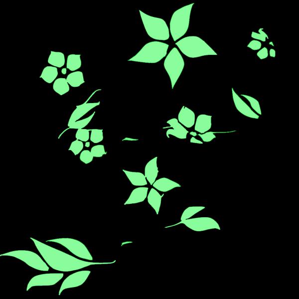 Flower Cartoon Blue PNG Clip art